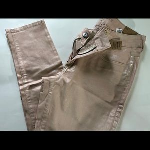 American Eagle Pink Iridescent Jeans